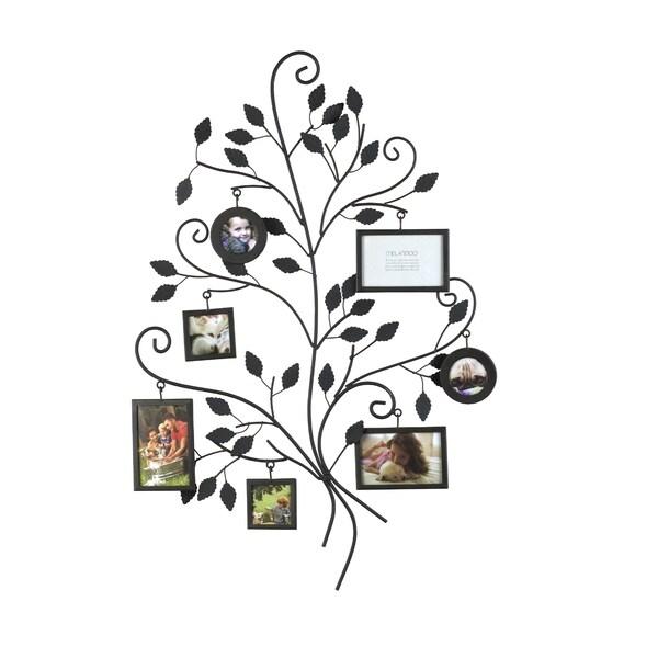 Melannco Family Tree 7-frame Metal Collage