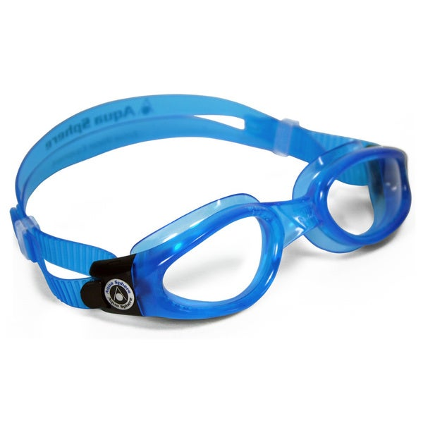 Kaiman Small Blue/ Clear Lens Goggles