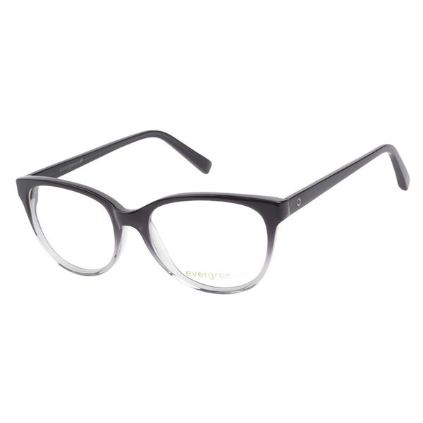 Evergreen 6016 Black Gradient Prescription Eyeglasses