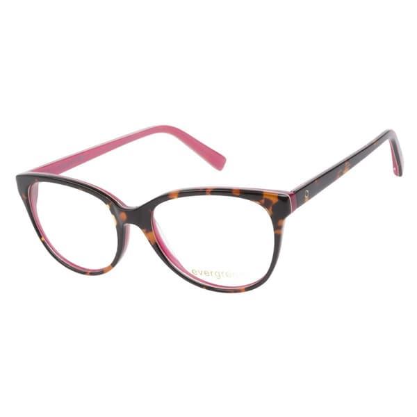 Glasses Frames Pink : Evergreen 6016 Tortoise Pink Prescription Eyeglasses ...