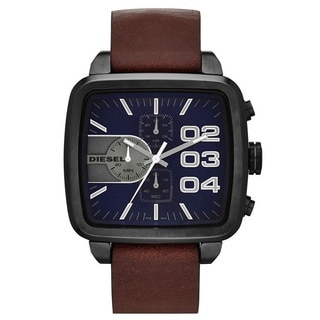 Diesel Men's DZ4302 Square Franchise Grey Watch