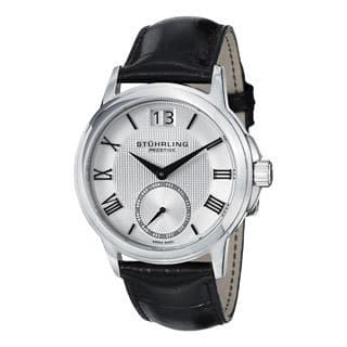 Stuhrling Original Men's Noble Swiss Quartz Strap Watch|https://ak1.ostkcdn.com/images/products/8760139/Stuhrling-Original-Mens-Noble-Swiss-Quartz-Strap-Watch-P16002913.jpg?impolicy=medium