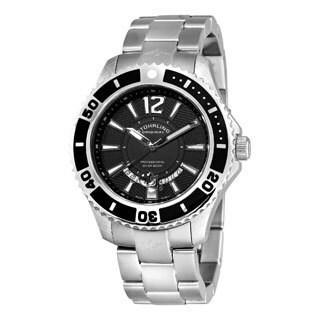 Stuhrling Original Men's Regatta Diver Swiss Quartz Movement Bracelet Watch