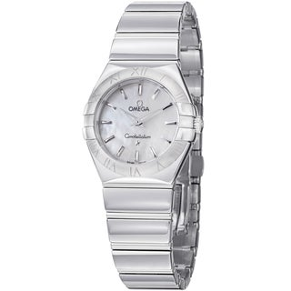 Omega Women's 123.10.27.60.05.002 'Constellation' Stainless Steel Watch