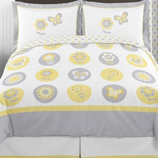 Sweet Jojo Designs Mod Garden 3-piece Full/Queen Comforter Set