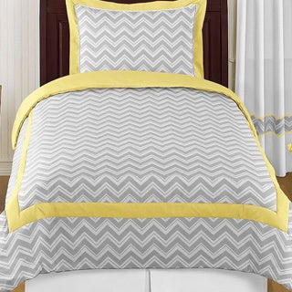 Sweet Jojo Designs Chevron Zigzag 4-piece Twin Comforter Set
