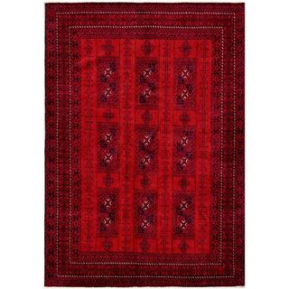 Handmade One-of-a-Kind Balouchi Wool Rug (Afghanistan) - 6'6 x 9'3