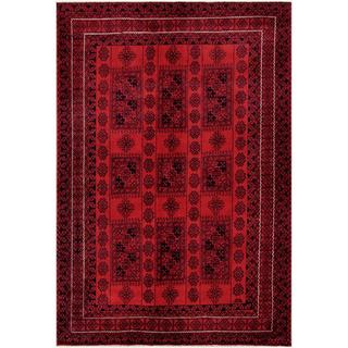 Handmade One-of-a-Kind Balouchi Wool Rug (Afghanistan) - 6'5 x 9'5
