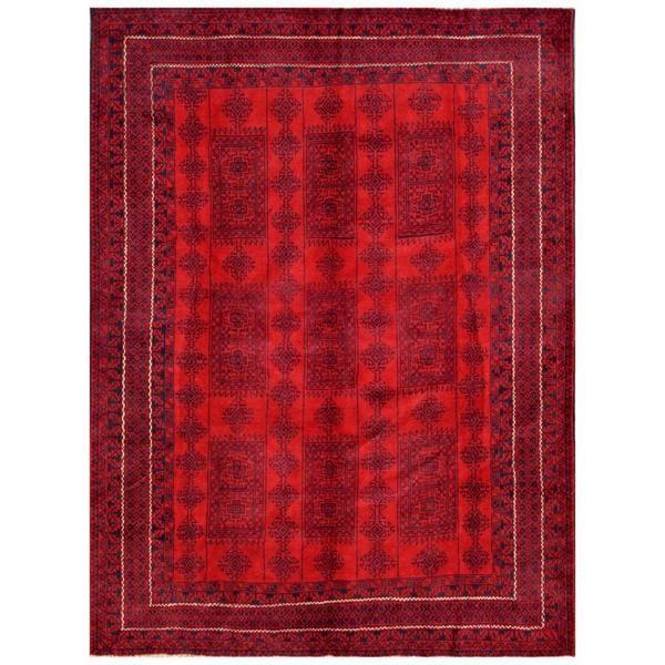 Handmade One-of-a-Kind Balouchi Wool Rug (Afghanistan) - 6'8 x 8'10