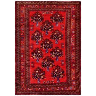 Handmade One-of-a-Kind Balouchi Wool Rug (Afghanistan) - 6'8 x 9'5
