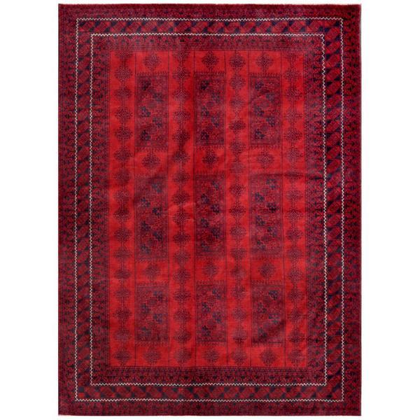 "Handmade One-of-a-Kind Balouchi Wool Rug (Afghanistan) - 6'11"" x 9'6"""