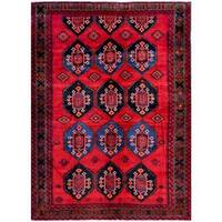 Herat Oriental Afghan Hand-knotted Tribal Balouchi Wool Rug (7'2 x 9'8)