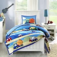 Mi Zone Kids Truck Zone Pattern Mini Comforter Set