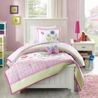 Link to Mi Zone Kids Flower Power Multi Comforter Set Similar Items in Kids Bed-in-a-Bag