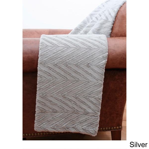 Elissa Faux Fur Throw Blanket
