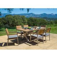 Corvus Jasmine 7-piece Patio Dining Set with Sunbrella Cushions