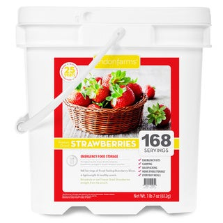 Lindon Farms Freeze Dried Strawberries (168 Servings)