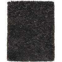 Jani Lea Grey Paper Shag Rug - 5' x 8'