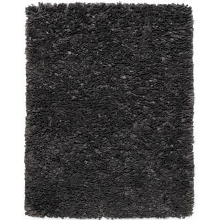 Jani Lea Grey Paper Shag Rug - 8' x 10'