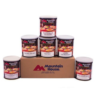 Mountain House Freeze Dried Lunch/ Dinner Favorites Kit (Pack of 6)