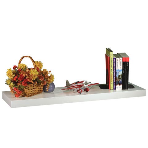 Wallscapes White Mini Big Wall Shelf