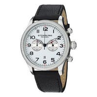 Stuhrling Original Men's Velo Quartz Chronograph Strap Watch