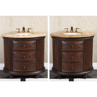 vintage bathroom vanities vanity cabinets shop the best brands overstockcom - Furniture In The Bathroom