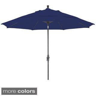 Lauren & Company Ultra Premium Sunbrella 11-foot Patio Umbrella (5 Colors)