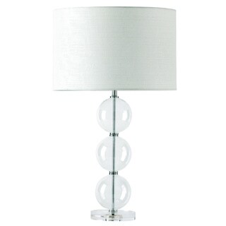 Knox 20-inch Modern Glass Table Lamp