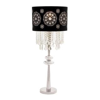 Casa Cortes Parisian 35-inch Contemporary Glass Pendant Table Lamp