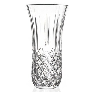 Lorren Home Trends Opera 9.5-inch Crystal Vase