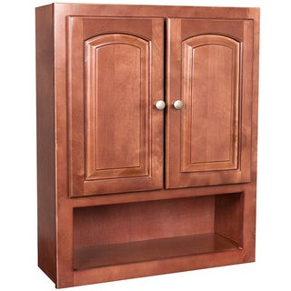 maple bathroom wall cabinet tuscany maple 2 door bathroom wall cabinet 15458897 23031