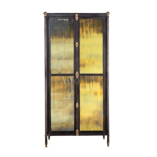 Industrial Opulence Cabinet Tower
