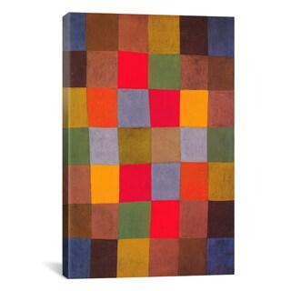 18 by 18-Inch iCanvasART Senecio by Paul Klee Canvas Art Print