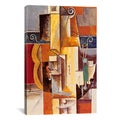 iCanvas Violin and Guitar By Pablo Picasso Canvas Print Wall Art