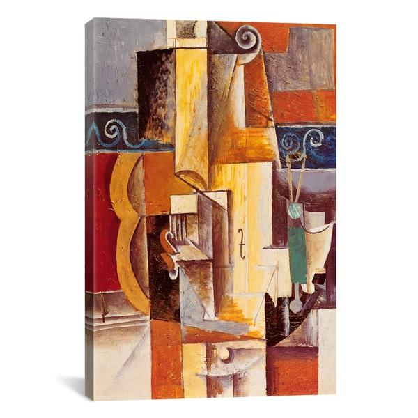 Shop iCanvas Violin and Guitar By Pablo Picasso Canvas Print Wall ...