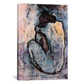 iCanvas Blue Nude By Pablo Picasso Canvas Print Wall Art