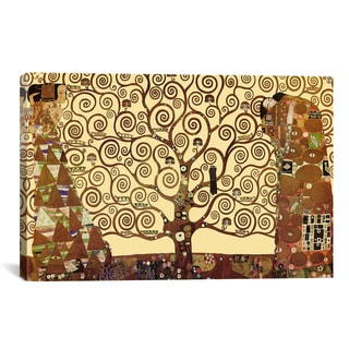 iCanvas The Tree of Life by Gustav Klimt Canvas Print Wall Art