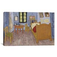 iCanvas The Bedroom at Arles by Vincent van Gogh Canvas Print Wall Art