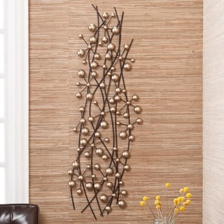 Harper Blvd Champagne Metal Wall Sculpture