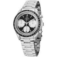 Omega Men's 326.30.40.50.01.002 'Speedmasteracing' Black Dial Stainless Steel Watch