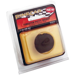 Pine Car Weights 1oz-Tungsten Putty