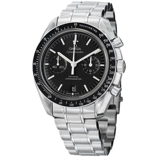 Omega Men's 311.30.44.51.01.002 'SpeedmasterMoon' Black Dial Stainless Steel Watch|https://ak1.ostkcdn.com/images/products/8762614/P16005001.jpg?impolicy=medium
