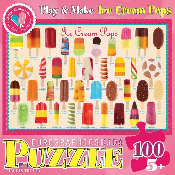 Ice Cream Pops Puzzle 100 Pieces