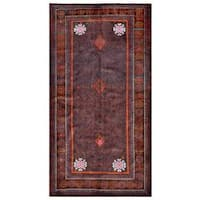 Handmade Herat Oriental Afghan Tribal Balouchi Wool Rug (Afghanistan) - 4'8 x 8'10