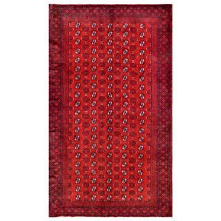 Herat Oriental Afghan Hand-knotted Tribal Balouchi Wool Rug (5'5 x 9'6)