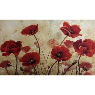Shop Indoor Outdoor Vintage Floral Peony Doormat 18x30