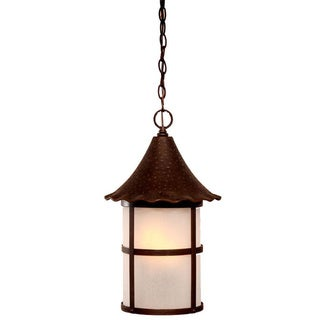 Acclaim Lighting Architectural Bronze 3-light Hanging Outdoor Lantern