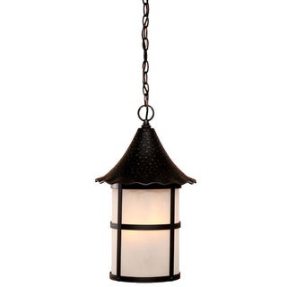 Acclaim Lighting Matte Black 3-light Outdoor Hanging Lantern