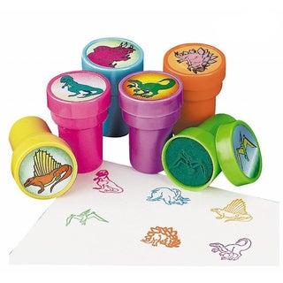Fun Express Plastic Dinosaur Stampers (6-piece Kit)
